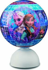 Puzzle 240 piece 3D sphere Starlight series Ana and the Snow Queen Snow fantasy