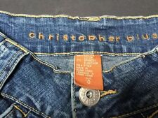 Christopher Blue Size 0 Stretch Lloyd Jeans Capri New With Tags