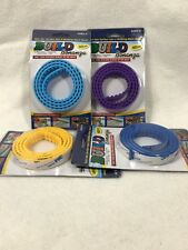 Lot Of 4 Packs Build Bonanza Peel & Stick Removable & Reusable Building Blocks