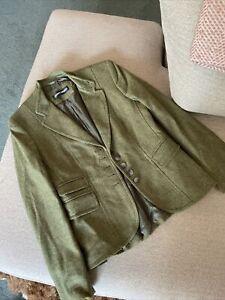 Gerry webber Green Tweed Jacket Size 10 Excellent Condition