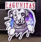 Rare Lagunitas Dog Craft Beer Metal Tin Tacker Bar Sign