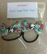 Duck Tape Bow Hair Ties