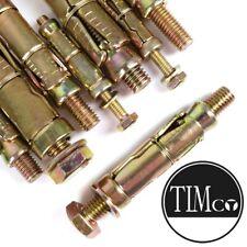 M8 SHIELD ANCHOR LOOSE BOLTS  RAWL HEX 8MM BOLTS MASONRY BRICK PACK OF 2 TFD