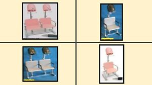 1:12 scale dolls house miniature modern hairdressers dryers 4 to choose from.