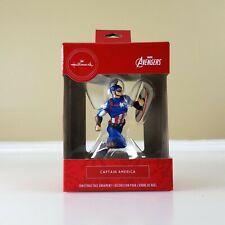 Hallmark Marvel Avengers - Captain America Christmas Ornament | Brand New