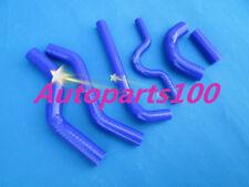 For Kawasaki KX250F radiator Blue silicone hose kit 2007 2008 07 08