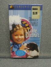 The Little Colonel Shirley Temple Brand New Sealed  (VHS, Colorized/Slipsleeve)