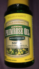 New Holland & Barrett Evening Primrose Oil x100 Softgel Capsules (500mg)