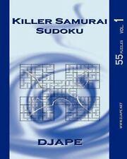 Killer Samurai Sudoku : 55 Puzzles by D. J. Ape (2010, Paperback)