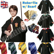 Robe+Tie+Scarf Set Harry Potter Costume Gryffindor Halloween Cosplay Party Xmas