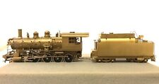 PACIFIC FAST MAIL HO SCALE G-3 BRASS GREAT NORTHERN 4-8-0 LOCOMOTIVE & TENDER OB