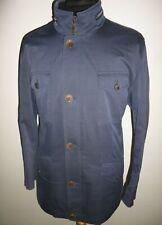Mens LORO PIANA Storm System Field Travel Jacket Blue Coat EDUARD DRESSLER 42