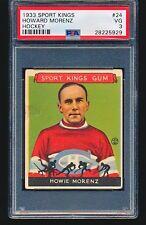 1933 Goudey Sport Kings HOWIE MORENZ #24 PSA 3