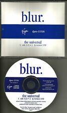 BLUR The Universal RARE EDIT PROMO CD Single Gorillaz Damon Albarn Graham Coxon