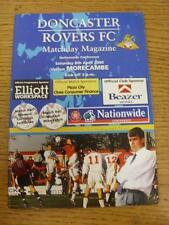 08/04/2000 Doncaster Rovers V le luminarie (senza apparente/difetti GRAVI)
