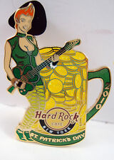 Hard Rock Cafe Pin 2010 New York St. Patrick's Day Limited Edition 400 Shamrock