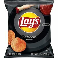 Lay's Potato Chips Barbecue Flavored On The Go Snacking Pack of 40 Bags 1 Oz