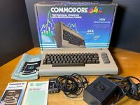 Commodore 64 system with original box and manuals - READ