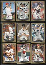 2013 Lot Of 18 Bowman Baseball Gold Cards. Gonzalez, Bundy, Moustakas, Holt ++++