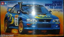 TAMIYA 24205 SUBARU IMPREZA WRC'98 Safari NUOVO - 1/24 -