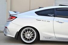 Hic Usa 2012 To 2015 Civic 2dr Rear Roof Window Visor Spoiler Cf Black Fits 2013 Honda Civic Si