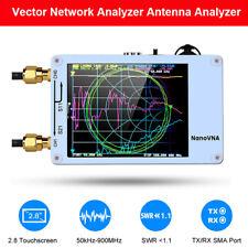 Nanovna 50khz 900mhz Vector Network Antenna Analyzer Vna Hf Vhf Uv Tft Usb White