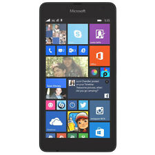 Microsoft Lumia 535 Black 8GB Unlocked Windows Smartphone New Phone Only