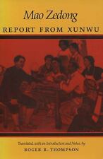 Report from Xunwu by Zedong Mao and Mao Tse-Tung (1993, Paperback)
