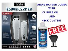 Andis 66325 Barber Combo Clipper & Trimmer Kit