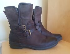 UGG SIMMENS WOMEN'S BROWN BOOTS  SIZE UK 8
