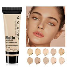 Liquid Foundation Matte Waterproof Lasting Face Concealer Base Cosmetics Makeup
