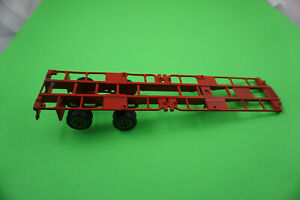 Forma Toys (Italy) # 0306 Red Trailer NICE