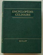 Encyclopédie Culinaire Quillet  1967