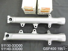 Suzuki GSF400 Fork Outer Tube L & R 1997 NOS BANDIT 400 FRONT TUBES 51130-33D00