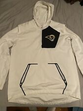 LA Rams Nike Vapor Wind Fly Rush Jacket On Field Apparel Men's Size Large RARE