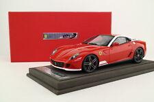 BBR 1801V; 1:18 FERRARI 599 GTB HGTE 60 F1 Alonso Italia; ROSSO; ottimo in scatola