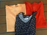 Lot of 3 Tank Tops..2 XL 1 XXL - see pics - White Stag and Old Navy - GUC