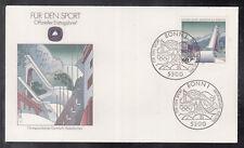 "Germany 1993 ""Olympic ski jump Garmisch Partenkirchen"" beautiful artist FDC"