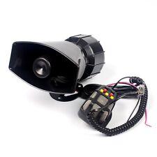 Police Ambulance Loudspeaker Car Warning Siren Alarm W/ MIC 7 Sound Mode 100W