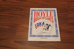 Official Hoyle Book of Games Volume I