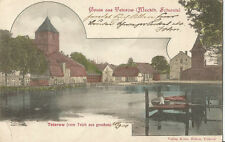 Gruß aus Teterow, alte Ansichtskarte von 1900
