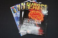 CHESS MAGAZINES Lot of 4 EUROPE ECHECS magazines Juin Sept.- Nov. 2011 Francais