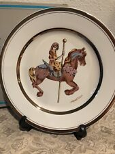 Willitts 1987 Carousel Memories Le Collectors Plate by Mitchell Wu Numbered 1987