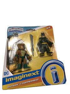 Fisher-Price Imaginext DC Super Friends Batman & Copperhead set BRAND NEW!!