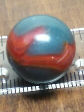 """Vintage Peltier """"Superboy """" Patch Marble. 5/8 """" In NM- CONDITION. A48"""