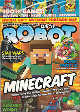 SEALED! ROBOT Minecraft Kirby Zelda Posters Lego Star Wars Games + Pokemon Map