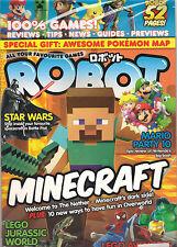SEALED! ROBOT Minecraft Kirby Zelda Posters Lego Star Wars Games + Pokemon Map
