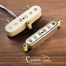 Cream Telecaster pickup set fit Fender Telecaster Scatterwound tele pickups