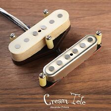Cream Telecaster pickup set fit Fender Telecaster Scatterwound tele pickups