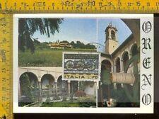 Repubblica cartolina maximum m 458 Oreno Vimercate